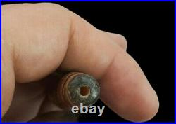 100% Authentic Ancient Himalayan Indo Tibetan Pure 7 eye Unique Old Lucky Dzi