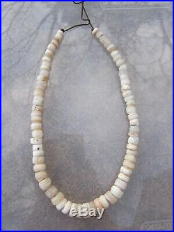 68 Ancient Indo Tibetan Chung Dzi Agate Sulemani Bead Necklace 1800+ Years Old