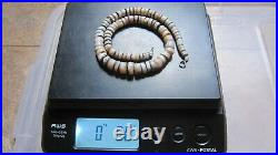 ANCIENT RARE INDO TIBETAN CHUNG DZI AGATE SULEMANI BEAD NECKLACE Approx. 80g