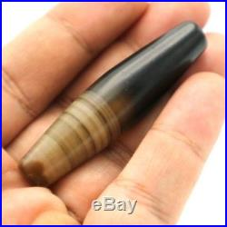 Ancient Antique Old Rare Natural Dzi Agate Bead Asia Pyu Collectibles. Ag03
