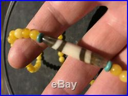Ancient Chung Dzi Bead, 2 lines, without any imperfection, Authentic guaranteed