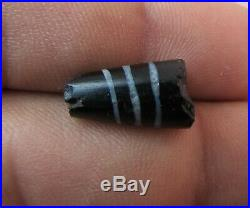 Ancient Dzi PYU Agate bead with beautiful lines From Afghanistan